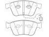 Brake Pad Set:3W0 698 151 AA
